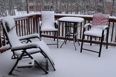 109/365 Springtime in Alaska (OhWowMan) Tags: 365the2019edition 3652019 day109365 19apr19 ohwowman nikon d3300 acdseepro9 spring springtime springtimeinalaska snow backyard deck