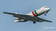 CS-TPE   Fokker F100 - Portugália (Peter Beljaards) Tags: msn11342 rrrb183tay gavião cspge portugália final landing fokker100 fokker rollsroyce ams eham schiphol haarlemmermeer nikon7003000mmf4556