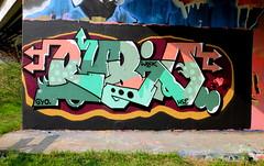 Mssls (oerendhard1) Tags: graffiti streetart urban art rotterdam oerendhard maassluis rubio woik hse