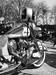 Indian. Motorcykelpremiären 2019 Filipstad (svensmail) Tags: motorcykel motorcycle motorrad moto bw svartvit indian filipstad värmland