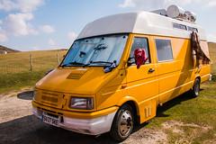 Fiat Motorhome on Vatersay (Briantc) Tags: barra isleofbarra scotland vatersay motorhome fiat
