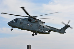 ZJ131 RNAS Agusta Westland Merlin EGNS 6/4/19 (David K- IOM Pics) Tags: zj131 rnas royal navy faa fleet air arm culdrose helicopter eh101 agusta westland merlin hc4 egns iom isleofman isle man ronaldway airport