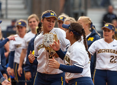 JD Scott Photography-Michigan Softball-Indiana University-4.28.17-mgoblog-0168 (J.D. Scott Photography) Tags: 2017 annarbor april jdscottphotography michigan michigansoftball sports universityofmichigan mgoblog