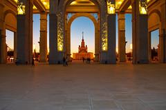 Main Entrance (gubanov77) Tags: architecture night city urban street vdnh moscow russia entrance