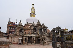 Chilancho Stupa (sandhya.sahi) Tags: kirtipur travel travelphotography traveler nepal nikond3300 photography serene sculpture architecture shrine newarartists newari newaritown ancient history explore buddha buddhist buddhism dslr nikon