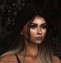 Me... (Mayelai Neisser) Tags: portrait virtual avatar picture photographer photography photo art heart head shoot sl secondlife second life woman girl female bento