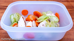 Roast chicken, celery, and carrot (garydlum) Tags: carrot celery chicken canberra australiancapitalterritory australia