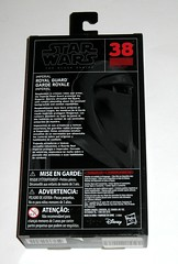 star wars the black series 6 inch action figure #38 imperial royal guard return of the jedi hasbro 2017 misb 2b (tjparkside) Tags: imperial royal guard emperors 38 star wars black series 6 inch action figure return jedi red packaging hasbro 2016 robe robes emperor palpatine blaster pistol blasters pistols holster episode vi six rotj