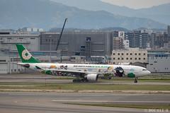 Fukuoka Airport 2019.4.13 (49) (double-h) Tags: omd em1markii omdem1markii lumixgxvariopz45175mmf4056asphpowerois rjff fuk fukuokaairport 福岡空港 airplane 飛行機 observationdeck 展望デッキ