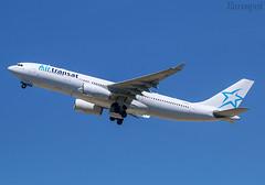 C-GJDA Airbus A330 Air Transat (@Eurospot) Tags: cgjda airbus a330 a330200 airtransat barcelone