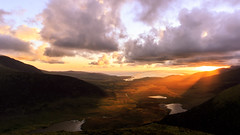 Dawn (Mountain Bracken) Tags: 2019 beennabrack brandon conorpass dawn kerry lake landscape lough outdoor rocks spring sun sunrise water cairn clouds coast coastal coastline fence grass green gully hiking ireland loch mountain mountainside munster ridge sky slope stones dingle peninsula saint brendan crepuscular