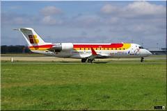 CRJ-200ER, Air Nostrum, EC-ILF (OlivierBo35) Tags: spotter spotting rennes lfrn rns bombardier crj crj200 airnostrum