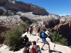 P1000534 (odetojoy24) Tags: zion utah angels landing hiking
