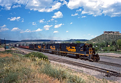 Classics at Castle Rock (Erie Limited) Tags: riogrande drgw castlerockco jointline emd sd40t2 sd50 up unionpacific mdvpu train railfan railroad
