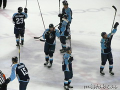 Crowd Salute (mistabeas2012) Tags: ahl hockey