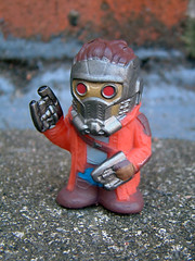 Peter Quill / Star-Lord (The Moog Image Dump) Tags: peter quill starlord toy figure finger puppet marvel huckleberry guardians galaxy