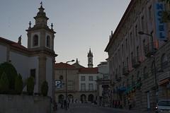 Centre of Covilhã at Dusk (colour) (lebre.jaime) Tags: portugal beira covilhã downton city centre digital fullframe ff fx nikon d600 voigtländer nokton 58f14sliis affinity affinityphoto street scene
