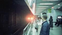 A train is coming (STREET MUTT) Tags: tungsten film filmcamera 35mm cinestill m2 leicam2 leica