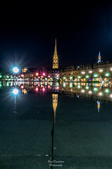 Reflet de Saint Michel (PaaulDvD) Tags: bordeaux couleurs aquitaine gironde city cityscape urban night blue hour