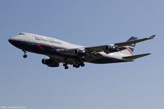 G-BNLY (Baz Aviation Photo's) Tags: gbnly boeing 747436 british airways baw ba landor retro livery heathrow egll lhr 27l ba190