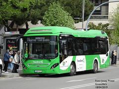 Sagalés 1063 (pretsend (jpretel)) Tags: sagalés bus granollers transgran volvo 7900 hibrid