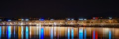 Geneve (karinavera) Tags: city longexposure night photography cityscape urban ilcea7m2 sunset geneve switzerland