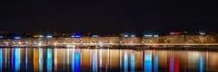 Geneve (karinavera) Tags: city longexposure night photography cityscape urban ilcea7m2 sunset geneve switzerland