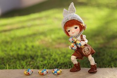 How to catch a chocolate lover (Petitedoll) Tags: chocolate easter smile meng secretdoll