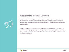 How Can Shopping Using WBY Earn More Than Discounts? | Adverts | WeBuy_10 (webuyofficial) Tags: webuy ecommerce ads adverts wby ecommerceplatforms buyers sellers discounts