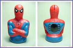 Mego - Spider-Man Bank  1973 (StarRunn) Tags: mego marvelcomics marvel spiderman comicbook superhero bank toy 1970s