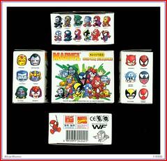 Elegant Way - Marvel Super Heroes  1996  02 (StarRunn) Tags: marvelcomics marvel superheroes supervillains comicbook caricature vinyl figures packaging toy 1990s