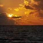 Sun comes out after cruise ship passes, Sandos Caracol Eco Resort, Mexico thumbnail