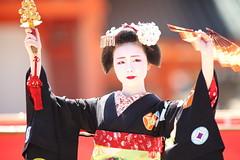 Traditional Odori Dance (Teruhide Tomori) Tags: kyoto japon japan heianjingushrine maiko performance tradition festival kimono stage 舞妓 京都 伝統 日本 着物 舞台 lady 踊り dance portrait event 平安神宮