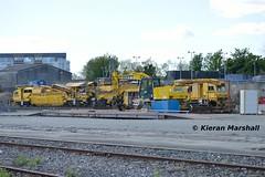 781 at Heuston, 4/5/19 (hurricanemk1c) Tags: railways railway train trains irish rail irishrail iarnród éireann iarnródéireann 2019 pwd plassertheurer ballastcleaner 781 dublin heuston