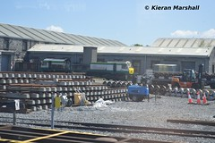 224 at Inchicore, 4/5/19 (hurricanemk1c) Tags: railways railway train trains irish rail irishrail iarnród éireann iarnródéireann dublin 2019 generalmotors gm emd 201 inchicore 224