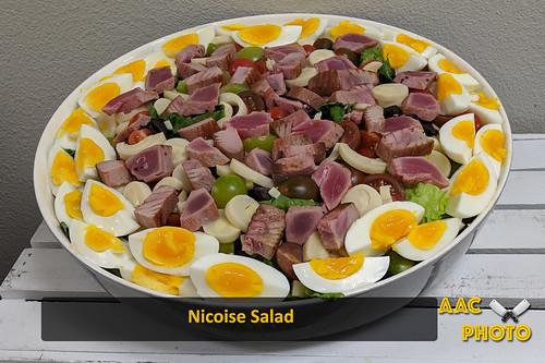 """Nicoise Salad • <a style=""""font-size:0.8em;"""" href=""""http://www.flickr.com/photos/159796538@N03/46926979285/"""" target=""""_blank"""">View on Flickr</a>"""