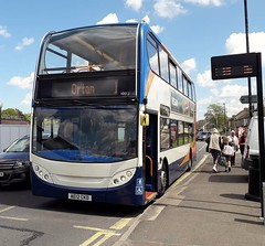 10012/AE12CKD (tmartintrevor1) Tags: 10012 ae12ckd stagecoacheast e400 alexanderdennisenviro400 peterborough