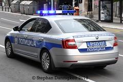 FuStw -Skoda Octavia III - VkPol BGhinten (Stephan Dannigkeit) Tags: polizei policja police policija полиција саобраћајна traffic wrd verkehrspolizei skoda octavia iii facelift belgrade belgrad beograd