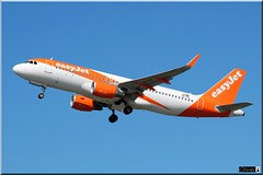 Airbus A320-214, easyJet, OE-IVS (OlivierBo35) Tags: nantes nte lfrs spotter spotting oeivs airbus a320 easyjet