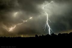 Forked Lightning (mesocyclone70) Tags: lightning storm thunderstorm stormchase longexposure thunder greatplains nebraska
