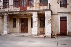 Moscow April, 2019 (natallia_asavitskaya) Tags: russia moscow house building old abandoned church abandonedhouse kodak200 canonaf35m autoboy analog 35mm film