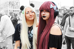 Berlin Girls (JuliSonne) Tags: streetphotography people anime cosmoplay girls redhair portrait
