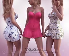 Maya Mini Dress (DarkFire Store) Tags: darkfire originalmesh secondlife slfashion 2life