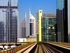 Emirates Towers (Heinz Klier) Tags: dubai emiratestowers metro hochhäuser skyscrapers metropolis grosstadt uae
