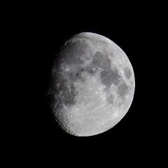Moon. Age 10 days 15h 39m (alexpta) Tags: astronomy luna astrophotography moon