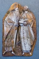 Angelo Biancini: Athenagora e Paolo VI (1970) (renagrisa) Tags: museivaticani artecontemporanea