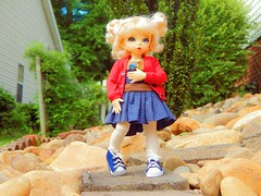 Watch out! Here I come! (Forest_Daughter) Tags: fairyland littlefee ante bjd balljointed doll