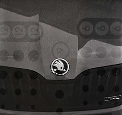 der gefiederte Pfeil (sowhat63) Tags: skoda selfdeveloped hp5 expired