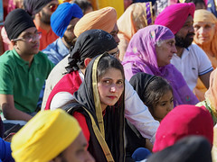 Intenso (Riccardo Palazzani - Italy) Tags: brescia sikh woman face sguardo colors vaisakhi baisakhi