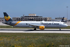 Thomas Cook Airlines Airbus A321-211  |  G-TCDA  |  LMML (Melvin Debono) Tags: thomas cook airlines airbus a321211 | gtcda lmml cn 2060 melvin debono spotting canon eos 5d mark iv 100400mm plane planes photography airport airplane aviation aircraft malta mla